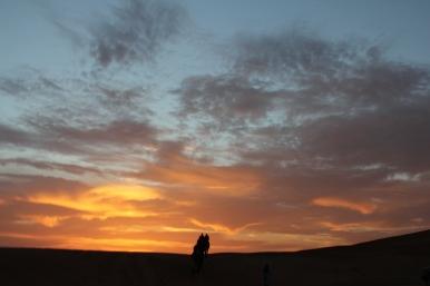 Dawn in the Sahara